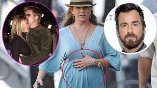 Jennifer Aniston says she is pregnant after a successful reunion with ex-husband Bard Pitt