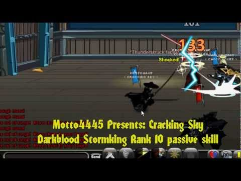Aqw Darkblood Starmking massive damage / M45