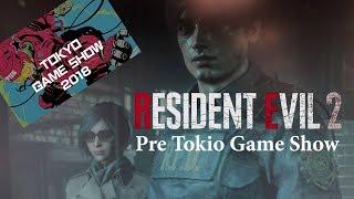 Que esperar de Resident Evil 2 Remake en el Tokio Game Show 2018