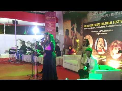 DIPADI DIPANG..LIVE AT IN MAHALAXMI SARAS CULTURAL MAHOTSAV.2016..VAISHALI SAMANT AND PRAMOD SARKATE