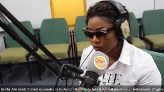 Bamba Ami Sarah reprend Bad boy de Fally & Aya Nakamura sur un instrumental Zouglou