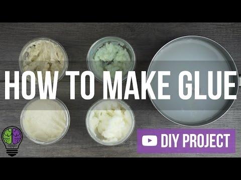 How to Make Homemade Super Strong Glue?  Natural Glue