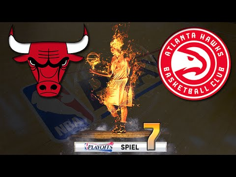 Let's Play NBA 2K16 Deutsch German [278] - Playoffs: Game 7 (vs. Atlanta Hawks)