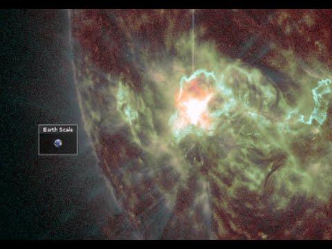 Big Earthquakes, Solar Flares, Record Cold | S0 News November 17, 2014