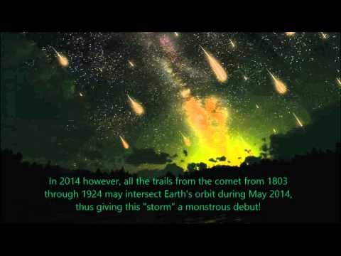 2014 Celestial Events to Watch!  Comet Siding Spring Mars Bombardment, Lovejoy, ISON, Meteor Showers