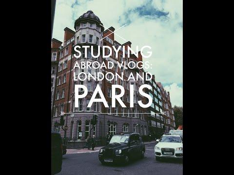 Studying Abroad Vlogs: London/ Paris
