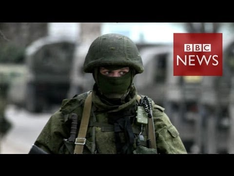 Military power: Russia vs Ukraine in 60 seconds - BBC News