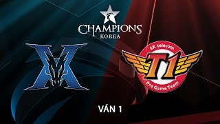 [28.06.2018] KING-ZONE vs SKT [LCK Mùa Hè 2018][Ván 1]