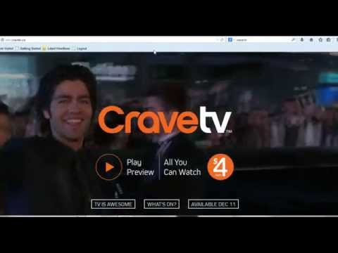 Crave TV Online Video Streaming Service By Bell-Will You Sign Up To Watch Crave TV?