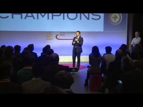 Digital Champions: Intervento di Matteo Renzi