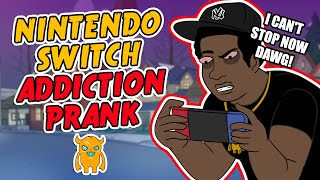 Asian Nintendo Switch Addiction Prank