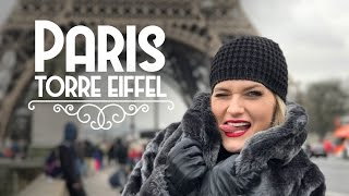 Torre Eiffel em Paris - Vlog de viagem na Europa - Ep.3