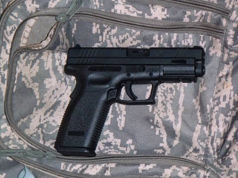XD 45 ACP or HS2000 Pistol made in Croatia imported by Springfield Armory
