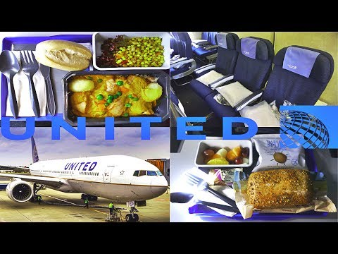 United Airlines ECONOMY London to Los Angeles Boeing 777