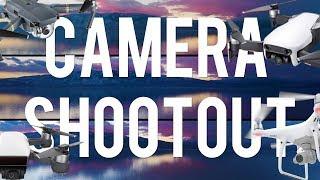 In-Depth DJI Mavic Air Camera side by side comparison Shootout!  VS Phantom 4 Pro, Mavic Pro,  Spark