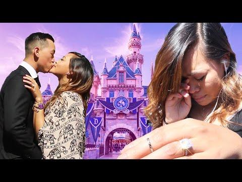Best Surprise Disney Proposal Ever