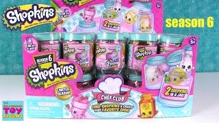 Shopkins Chef Club Season 6 2 Pack Jar Unboxing Toy Review Round 1 | PSToyReviews