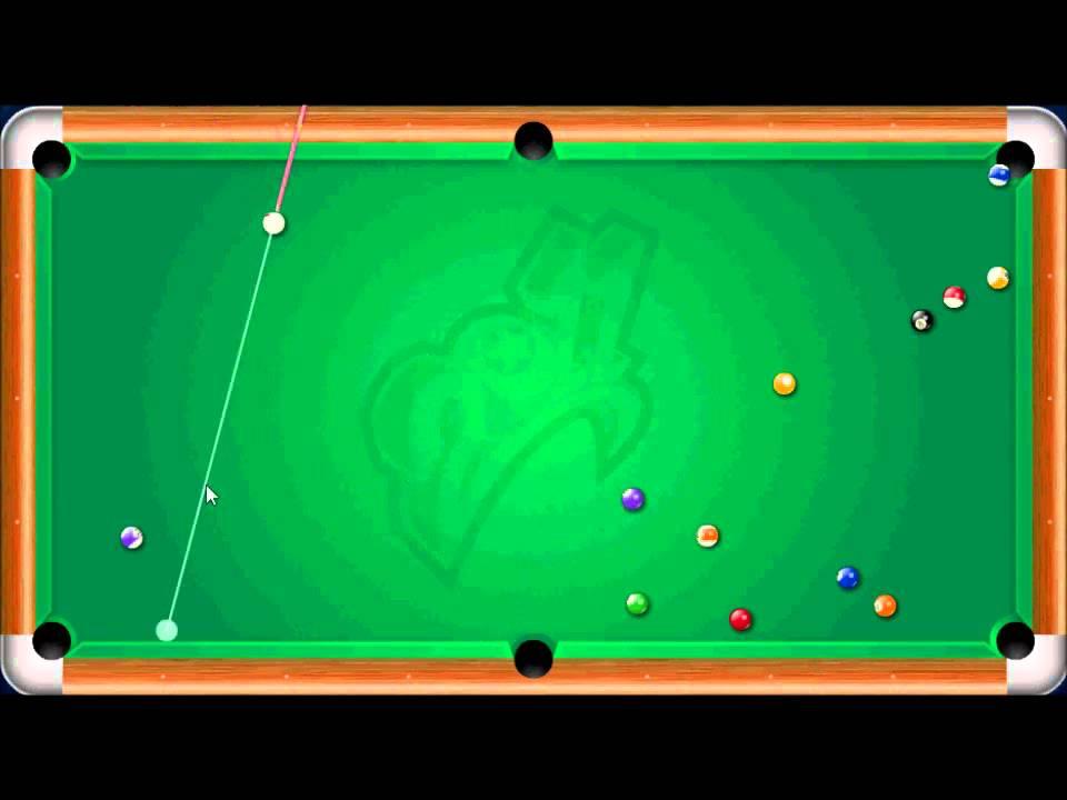flash billiard game