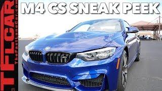 Here's Your 2019 BMW M4 CS Sneak Peek