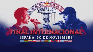 Final Internacional 2019 en Red Bull TV
