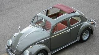 VW classic beetle ragtop collections