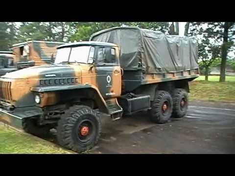 Amostra de Carros Militares Antigos Pirassununga 01