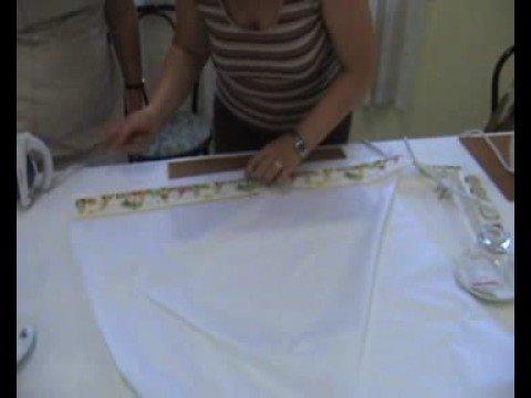 Realizzazione lenzuolino youtube for Piani di coperta facili