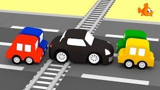 Cartoon Cars - Train DISASTER! - Cartoons for kids - Videos for kids - Kids Cartoons