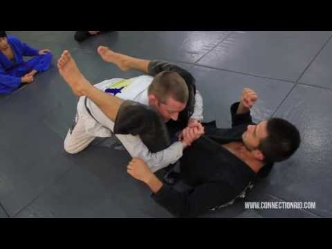 High-% Closed Guard Break & Pass BJJ Technique from Connection Rio Image 1