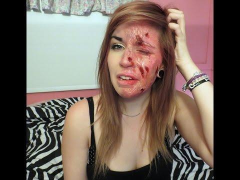 Burnt Face - 7 Days of Halloween
