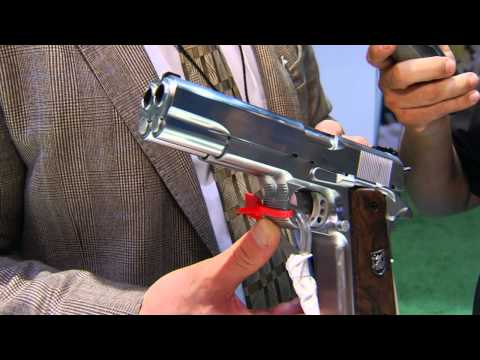 AF2011-A1 Double Barrel Pistol by Arsenal at Shot Show 2013 on The Firearms Channel