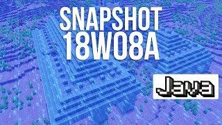 10 New Ocean Biomes in Minecraft! (Snapshot 18w08a)