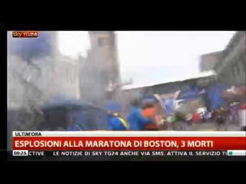 Attentato Terroristico alla Maratona di Boston – Sky Tg24
