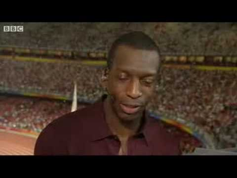 Michael Johnson Aghast by Usain Bolt winning time at beijing