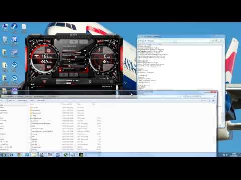 FSX & P3D Special New Tweak Tutorial 15-20 More FPS !! Part 1