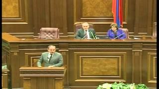 Nikol Pashinyani skandalayin eluyte - 20.10.2014