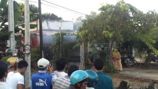 [Clip] Giang hồ đấu súng với cảnh sát Bình Thuận