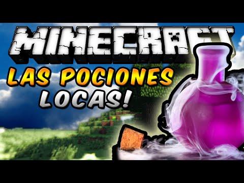 Minecraft - LAS POCIONES LOCAS MOD (Amor, Ebriedad, Enojo, Suerte y más!) - ESPAÑOL TUTORIAL