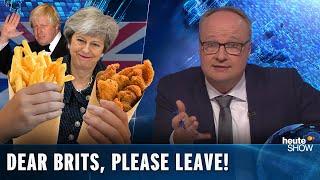 "Brexit: Dear Brits, please LEAVE ALREADY! German political comedy ""heute show"" (English subtitles)"