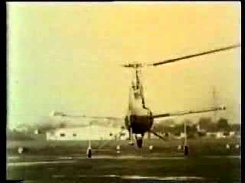 Sikorsky Vs Flettner:  The Single rotor Helicopter