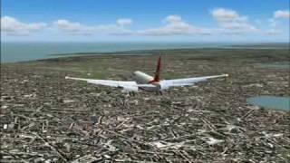 Air India 777-237LR Takeoff & Emergency Landing At Mumbai