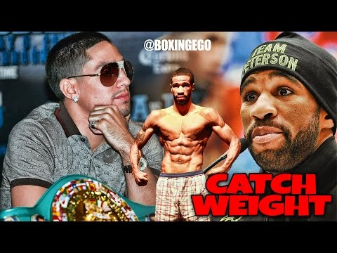 DANNY GARCIA AND LAMONT PETERSON FIGHT ONLY 10 ROUNDS AND AT A 143 LB CATCH-WEIGHT BARCLAYS CENTER