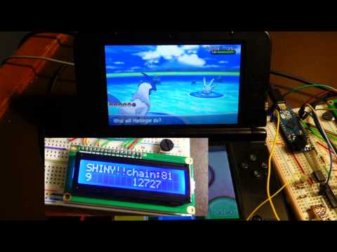 Pokemon X and Y: Fully Automatic Shiny Pokemon Finder!