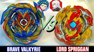 BATTLE | Brave Valkyrie .Ev' 2A VS Lord Spriggan .Bl.Dm' | Beyblade Burst Sparking/Superking
