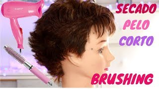 SECADO PELO CORTO BRUSHING | Sandranewlook