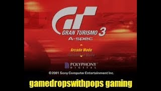 Lets Play Gran Turismo 3: A-Spec on the PCSX2 Sony Playstation 2 Emulator Retro Fun Run Pt 1