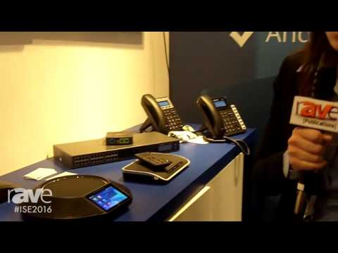 ISE 2016: Grandstream Networks Showcases GAC2500 Android Audio Conferencing Solution