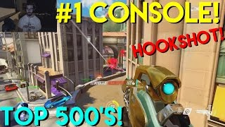 #1 CONSOLE WIDOWMAKER VS TOP 500's! COMPETITIVE! (Overwatch Gameplay Commentary PS4)