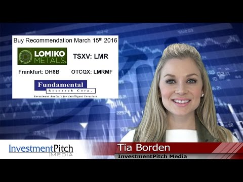 Lomiko Metals (TSXV:LMR) Receives $0.15 Target from Fundamental Research