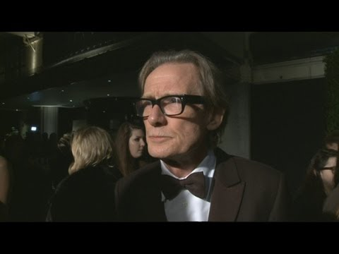 Evening Standard Theatre Awards: Bill Nighy talks on the carpet